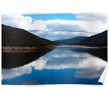 Corin Dam - HDR Poster