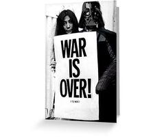 Darth Vader with Yoko Ono Greeting Card