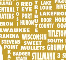 Drink Local (WI) Sticker