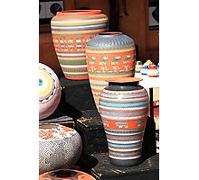 Santa Fe Pottery Photographic Print