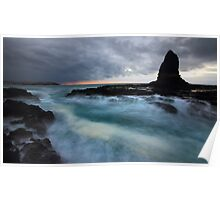 Sunrise at Pulpit Rock - Cape Schanck Poster