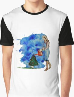 Waiting for Christmas Graphic T-Shirt