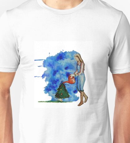 Waiting for Christmas Unisex T-Shirt
