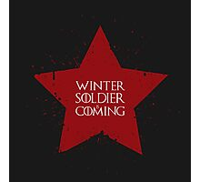 Winter Soldier is Coming Photographic Print