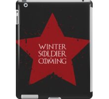 Winter Soldier is Coming iPad Case/Skin