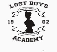 Lost boys Acadamy by Heather Saldana