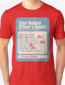 Chief Medical Officer's Report T-Shirt