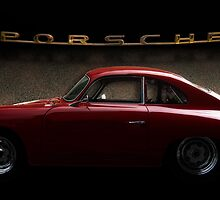 Red Porsche by Kurt Golgart