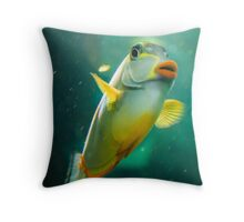 Whatcha Lookin' At? Throw Pillow