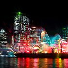Brisbane City of Lights by Silken Photography