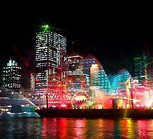 Brisbane City of Lights by Silken Photography