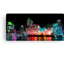 Brisbane City of Lights Canvas Print