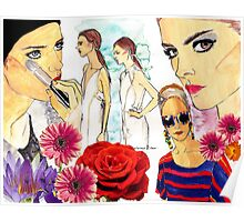 Spring runway beauty 2013 Poster