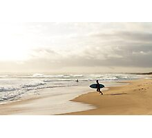 After work surf Photographic Print