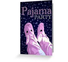 pajama party starshine Greeting Card