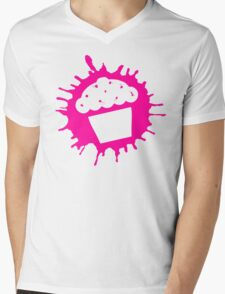cupcake splats Mens V-Neck T-Shirt