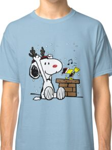 Snoopy and Woodstock Christmas Classic T-Shirt