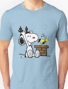 Snoopy and Woodstock Christmas T-Shirt