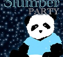 slumber party panda by maydaze