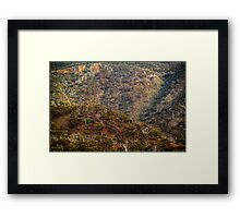 View from the Highway. Framed Print
