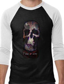 Wholock Skull *SPACE* Men's Baseball ¾ T-Shirt