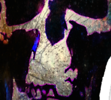 Wholock Skull *SPACE* Sticker