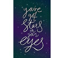 You've Got Stars In Your Eyes Photographic Print