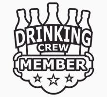 Drinking Crew Member by Style-O-Mat