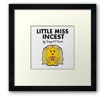 Little Miss Incest Framed Print