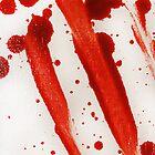 Blood Spatter Swipe by jenbarker