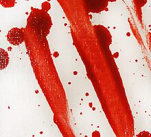 Blood Spatter Swipe by jenbarker
