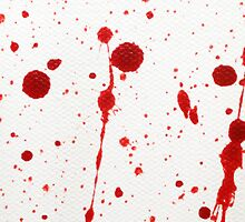 Blood Spatter Cast Off II by jenbarker