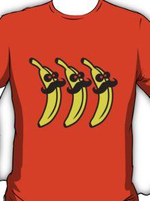 Banana Mustache Gentlemans T-Shirt