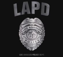 LAPD - Los Angeles Police Dept. (silver) by avdesigns