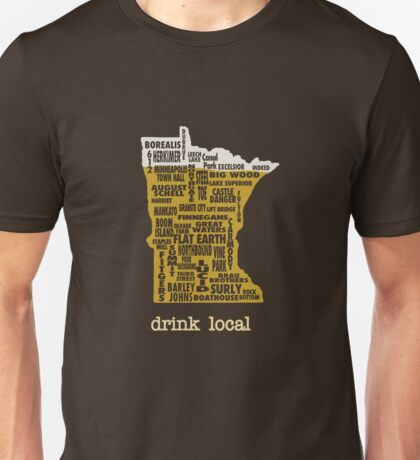 MN Drink Local Unisex T-Shirt