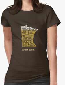 MN Drink Local Womens Fitted T-Shirt