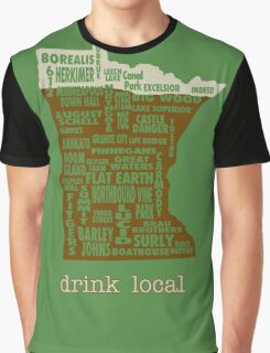 MN Drink Local Graphic T-Shirt