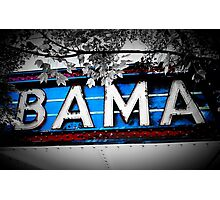Bama Theater Photographic Print