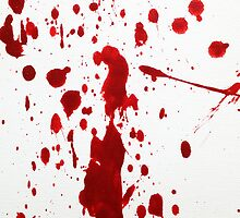 Blood Spatter 12 by jenbarker