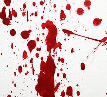 Blood Spatter 12 by jenbarker