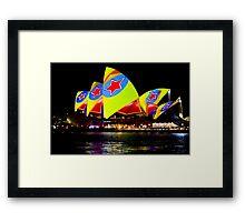 Sydney's Vivid Festival 2013 II Framed Print