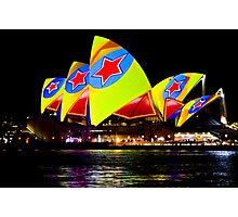 Sydney's Vivid Festival 2013 II Photographic Print