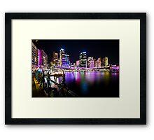 Sydney's Vivid Festival, 2013 III Framed Print