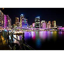 Sydney's Vivid Festival, 2013 III Photographic Print
