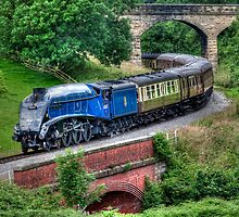 60007 Sir Nigel Gresley Locomotive by © Steve H Clark