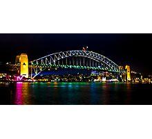 Sydney's Vivid Festival, 2013 IV Photographic Print