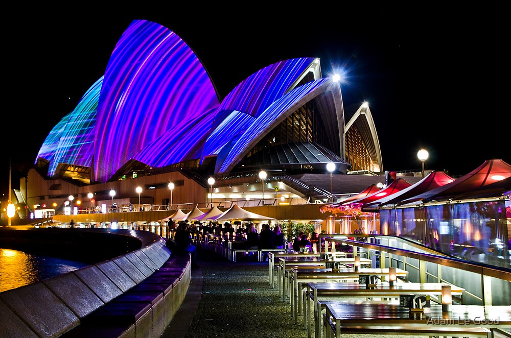 Sydney's Vivid Festival, 2013 VI by Adam Le Good