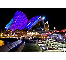 Sydney's Vivid Festival, 2013 VI Photographic Print