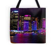 Sydney's Vivid Festival, 2013 V Tote Bag