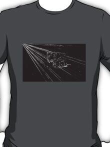 BLACK Electronic Underground #10 T-Shirt
